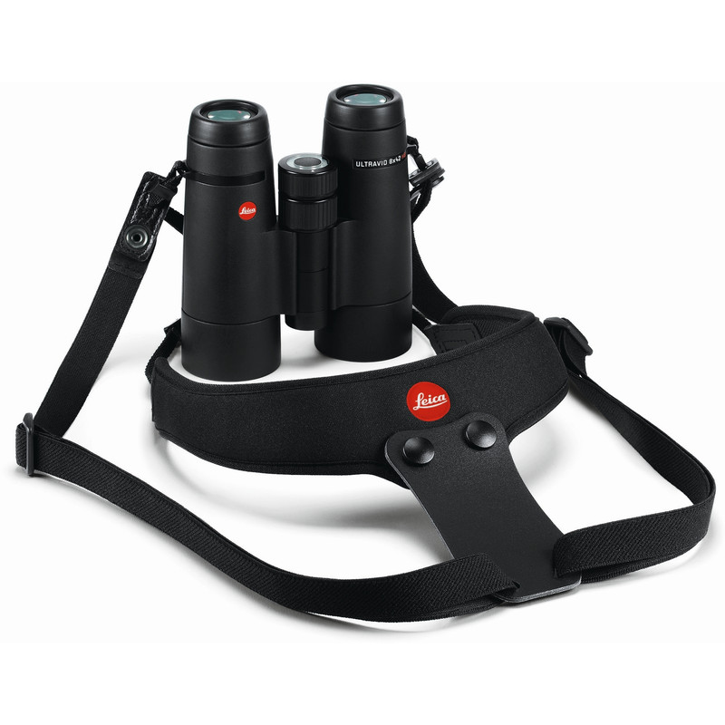 Leica Correas de Transporte de Neopreno Pitch Black