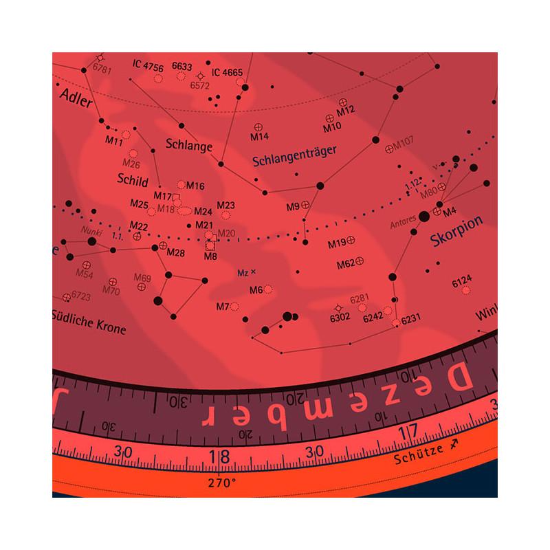 Oculum Verlag Star Chart Swivelling Sky Map