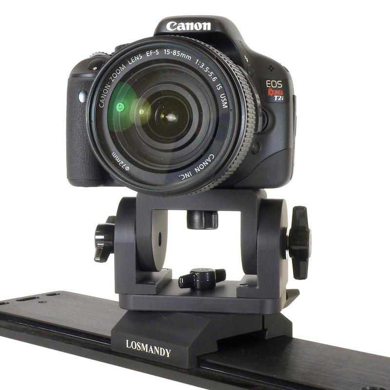 losmandy support appareil photo pour dvcm 2 avec 3 axes. Black Bedroom Furniture Sets. Home Design Ideas
