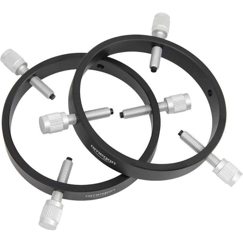 omegon colliers pour lunettes de guidage 105 mm basic. Black Bedroom Furniture Sets. Home Design Ideas