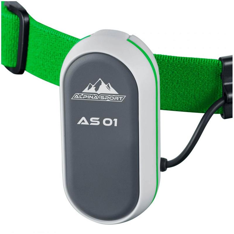 Alpina Sport Lampe frontale as01 DEL Head Torch Outdoor