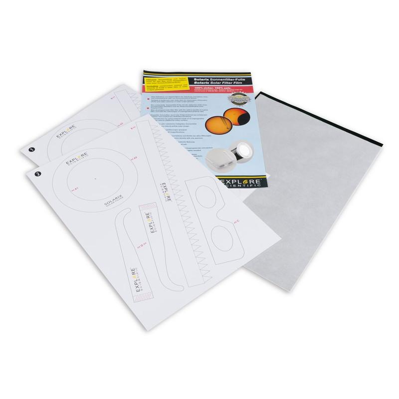 explore scientific solarix solar filter foil with din a4 and nd5 ...