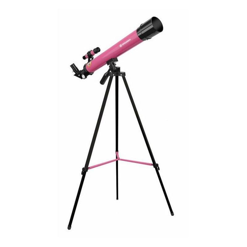 Bresser Junior Teleskop AC 50//600 AZ pink