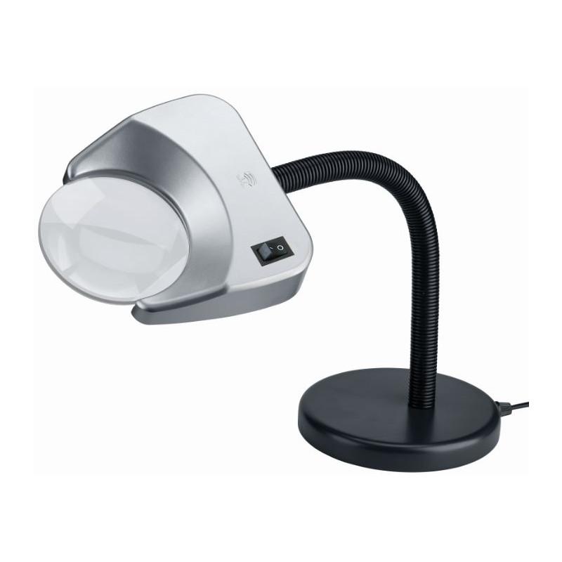 Schweizer Lupa Lupenleuchte Tech-Line LED TISCHFUSS 4500K, 2x Ø120mm,  bikonvex, Tischfuß 08420de4f1