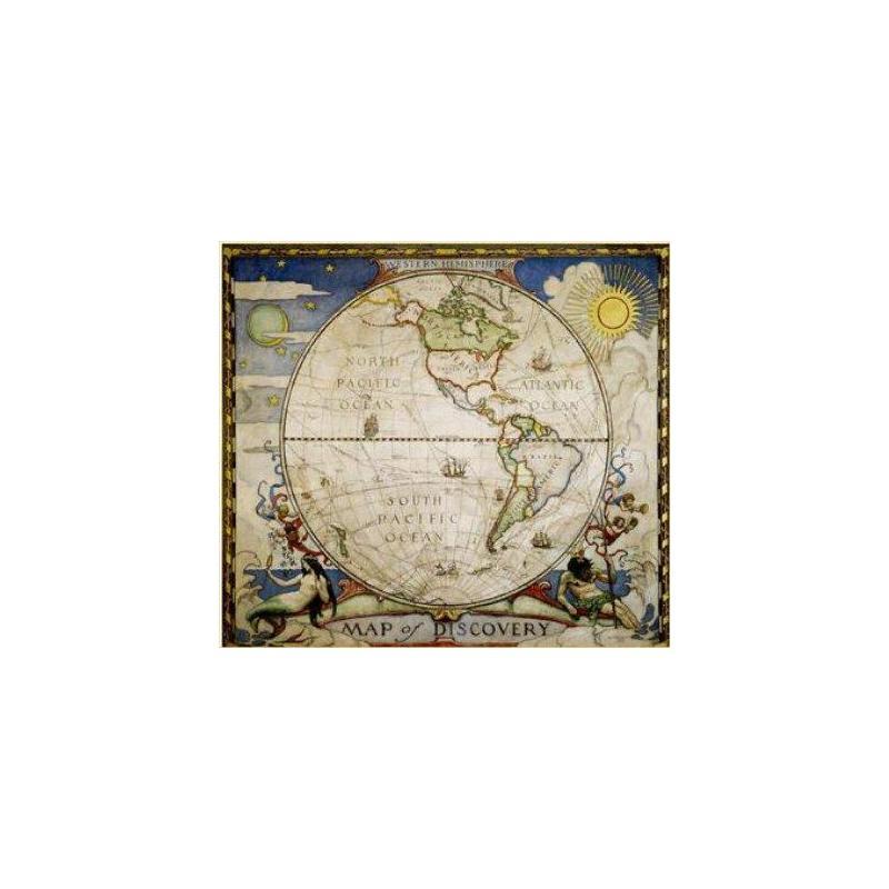 National Geographic Landkarte Entdeckerkarte - Westliche Hemisphäre