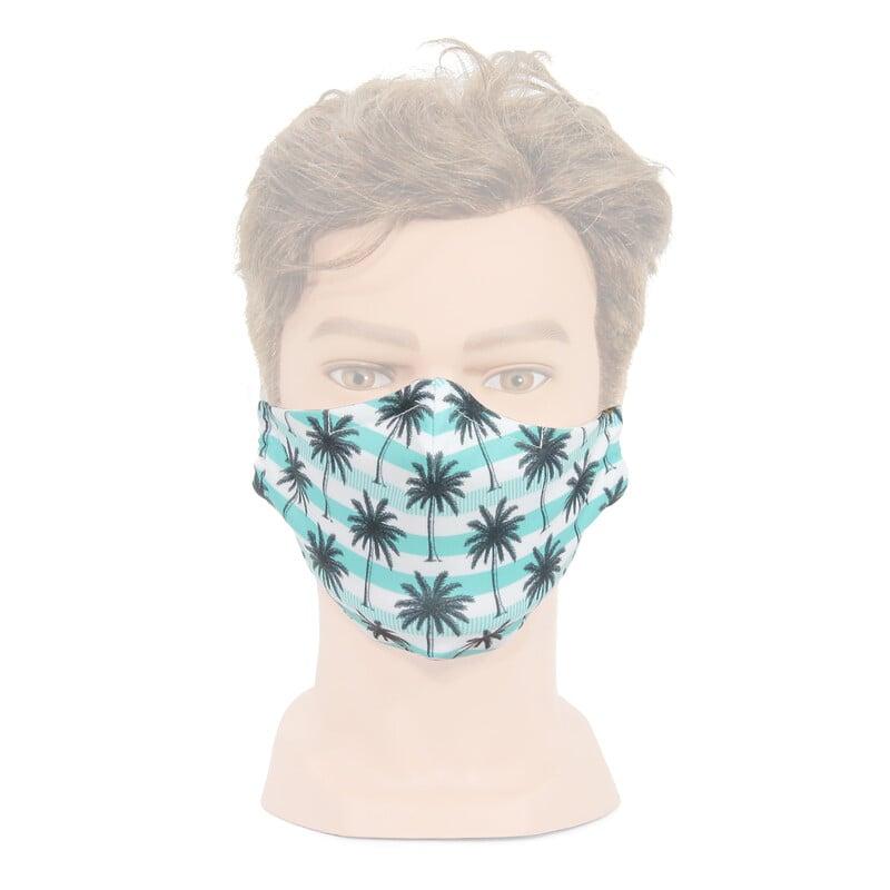 Maske mit Sommermotiv
