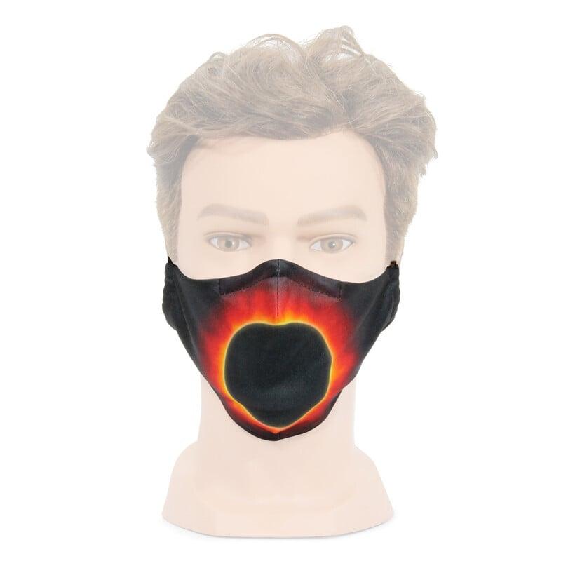 Maske mit Sonnencorona