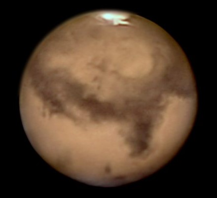 Mars with ToupTek Astronomy camera