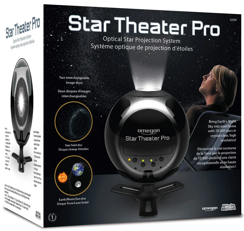 Omegon Star Theater Pro Planetarium Verpackung
